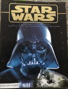 Star Wars Storybook signed on inside pages by Carrie Fisher, Peter Mayhew.