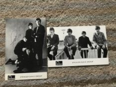 Spencer Davis Group signed 6 x 4 inch b/w Fontana records promo photo, signed by all four Steve