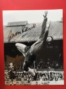England Football International signed photo collection. Selection of twenty five 12 x 8 inch and