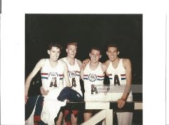 Olympics John Salisbury signed 6x4 colour photo of the Bronze Medallist in the Athletics 4x400 relay