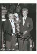 Olympics Dick McTaggart signed 6x4 black and white of the Olympic Gold and Bronze Medallist in the