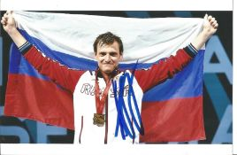 Olympics Aleksey Chermesisinov signed 6x4 colour photo of the Olympic Gold Medallist in the 2016