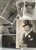 Vintage photo collection. 8 included. Includes Sid Field, Evelyn Lane, Cyril Fletcher, Adelaide Hall
