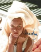 Lana Wood signed 10x8 colour photo. Good condition. All autographs come with a Certificate of
