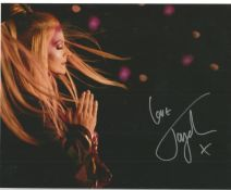 Toyah Punk Queen signed 10 x 8 inch colour photo. Good condition. All autographs come with a