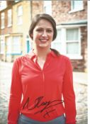 Nicola Thorp signed 12x8 colour photo. Good condition. All autographs come with a Certificate of