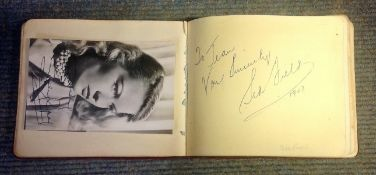 Vintage 1940, 50s, 60s and 70s Entertainment and Sport Autograph over 50 fantastic signatures some