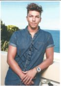 Matt Terry X Factor winner - Signed 8x10 colour photograph. Good Condition. All autographs come with