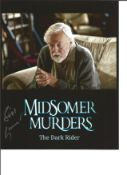 William gaunt signed 10x8 colour photo from Midsomer Murders. Good Condition. All autographs come