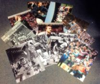 Football West Ham United collection includes 11 assorted signed photos from Hammer legends such as