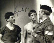 George Layton signed 10x8 b/w photo. Good Condition. All autographs come with a Certificate of