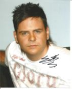 Scott Robinson from pop band Five, signed 8x10 colour photograph. Good Condition. All autographs