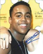 Bradley McIntosh also known as City Boy from 90s pop band S Club 7, 8x10 signed colour