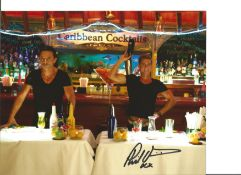 Philip Olivier signed 10x8 colour photo from Benidorm. Good Condition. All autographs come with a