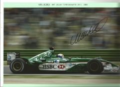 Mark Webber signed 12x8 colour action photo. Good Condition. All autographs come with a