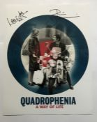 Quadrophenia Phil Daniels and Lesley Ash signed 16 x 12 inch colour photo of one of the movie