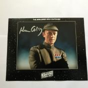Star Wars 10 x 8 inch b/w photo signed by Ken Colley. Good condition. All signed pieces come with