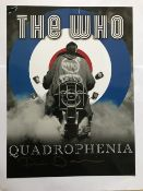 Quadrophenia Phil Daniels signed 16 x 12 inch colour photo of one of the movie posters. Good