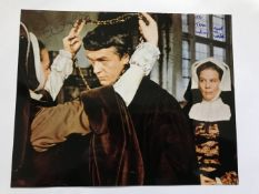 Paul Scofield signed 10 x 8 inch colour photo from A Man for All Seasons, to Tony. Good condition.