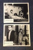 The Wild and the Willing two vintage black and white lobby cards from the 1962 British romantic