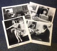 The Woman in Red collection of 4 lobby cards from the 1984 Romantic comedy film directed by and