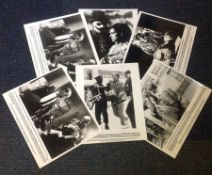 The Serpent and the Rainbow collection of 6 black and white lobby cards for the 1988 American Horror