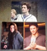 Twilight collection 3 fantastic, signed photos from the stars of the hit film series Robert