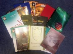 Classical and Opera Music Collection 20 inhouse brochures from productions such as San Francisco