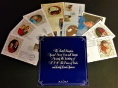 Royal FDC Collection includes 8 flown covers subjects include Royal Golden Wedding Anniversary and 1