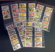 Cigarette card collection Gallaher Ltd Garden Flowers full set of 50 cards. Good Condition. We