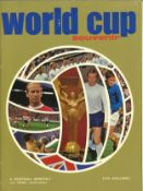 Football vintage magazine collection includes 5 magazine such as Football Monthly 1970 World Cup