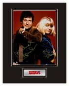 Stunning Display! Dempsey & Makepeace hand signed professionally mounted display. This beautiful