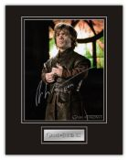 Stunning Display! Game Of Thrones Peter Dinklage hand signed professionally mounted display. This