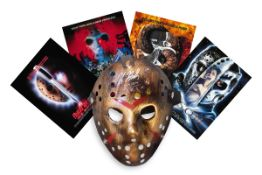 Kane Hodder Friday 13th hand-signed Jason Voorhees mask. Hand-Signed by Kane Hodder, who played