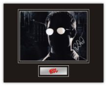 Stunning Display! Sin City Elijah Wood hand signed professionally mounted display. This beautiful