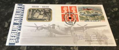 Berlin Airlift 1948 to 1949 Air Marshal Sir John Curtiss (1924 2013) KCB, KBE, FRAeS was a senior
