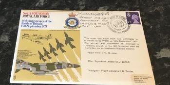 WW2 RAF Sub. Lt. R W M Walsh RN seconded to 111 Squadron RAF Battle of Britain 1940. Signed on an