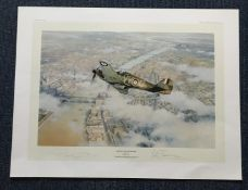Robert Taylor Defence of the Realm Limited Edition signed by Group Captain Peter Townsend CVO DSO