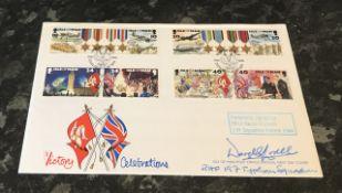 WW2 RAF Typhoon pilot Flt. Lt. Derek G Lovell 197 Typhoon Squadron RAF France 1944. Signed on a Isle
