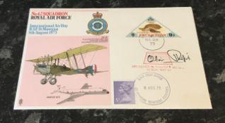 WW2 RAF Oliver Philpot (1913 1993) MC, DFC was a Canadian born Second World War Royal Air Force