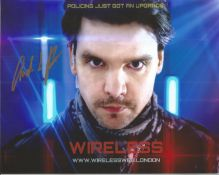 Andrew Lee Potts Signed 10x8 Colour Photo. Good condition. All autographs come with a Certificate of