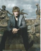 Alex Pettyfer Signed 10x8 Colour Photo. Good condition. All autographs come with a Certificate of