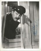 Alan Arkin Signed 10x8 Black And White Photo. Dedicated. Good condition. All autographs come with