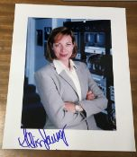 Alison Janney Signed 10x8 Colour Photo. Good condition. All autographs come with a Certificate of