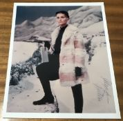Alexandra Bastedo Signed 10x8 Colour Photo. Good condition. All autographs come with a Certificate