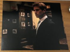 Armie Hammer Signed 10x8 Colour Photo. Good condition. All autographs come with a Certificate of