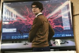 Ben Whishaw Signed 10x8 Colour Photo. Good condition. All autographs come with a Certificate of