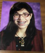 America Ferrera Signed 10x8 Colour Photo. Good condition. All autographs come with a Certificate
