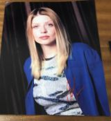 Amber Benson Signed 10x8 Colour Photo. Good condition. All autographs come with a Certificate of