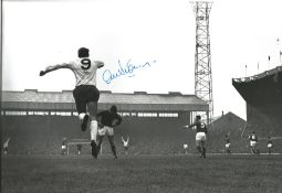 Alex Stepney Signed Manchester United 8x12 Photo. Good condition. All autographs come with a